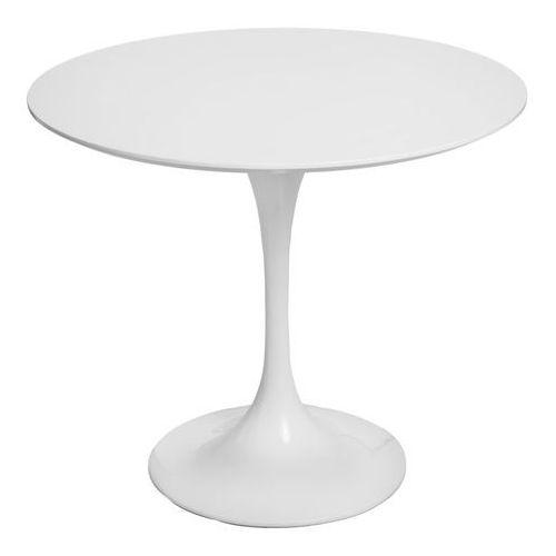 D2.design Stół fiber 90 biały mdf