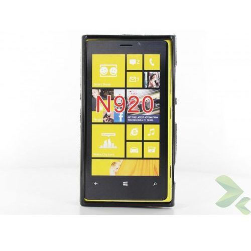 Geffy  - etui nokia lumia 920 tpu solid color black