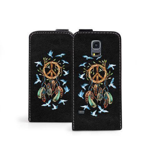 Samsung Galaxy S5 Mini - etui na telefon Flip Fantastic - boho, ETSM119FLFCEF029000