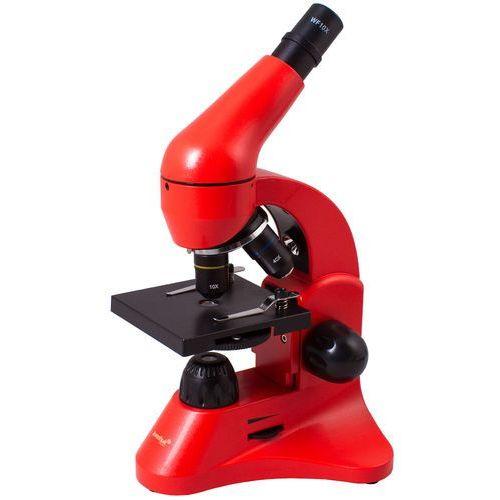 Mikroskop LEVENHUK Rainbow 50L Czerwony + DARMOWY TRANSPORT! (0611901506616)