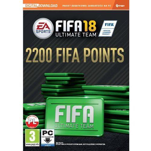 Electronic arts Gra pc fifa 18 - 2200 punktów ciab