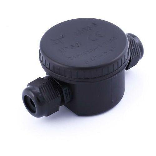 V-tac v-tac puszka mufa hermetyczna czarna 3pin 24a ac:450v średnica kabla 5-9mm ip66 vt-881 sku 5987 - rabaty za ilości. szybka wysyłka. profesjonalna pomoc techniczna. (3800157642835)