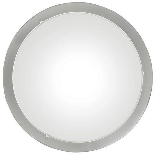 Eglo Plafon lampa sufitowa planet 1x60w e27 biały/nikiel 82942 (9002759829421)
