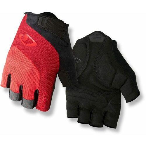 Giro rękawiczki rowerowe męskie bravo, bright red l