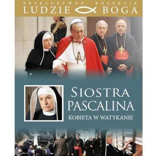 SIOSTRA PASCALINA. Kobieta w Watykanie + film DVD Wyprzedaż 03/17 (7) (-23%)