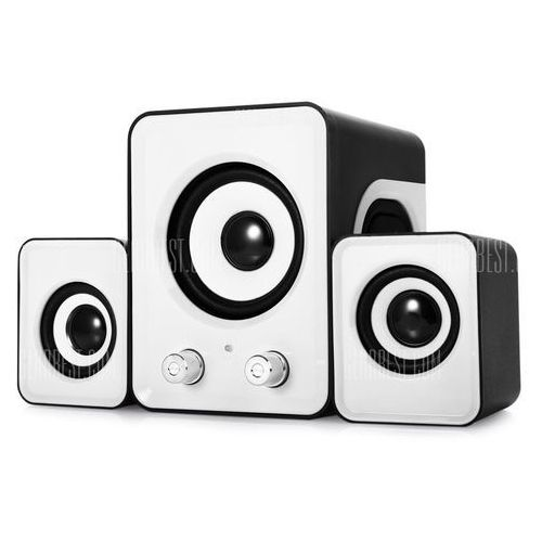 Ofnote YD - UP 2.1 USB Multimedia Combination Computer Subwoofer Portable Mini Speaker