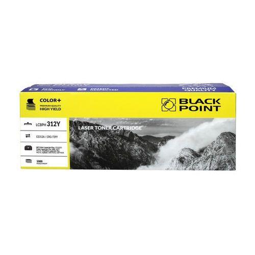 Toner hp ce312a yellow 1k bp marki Black point