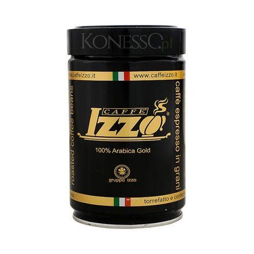 Kawa włoska izzo caffe 100% arabica gold 250g ziarnista marki Izzo caffe'