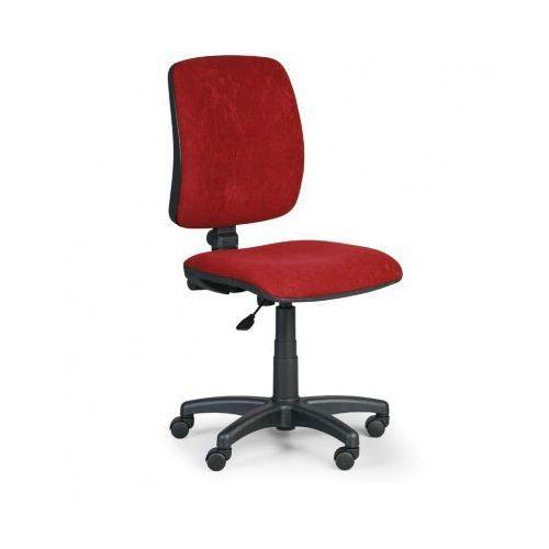 Euroseat Krzesło biurowe torino ii bez podłokietników - czerwone