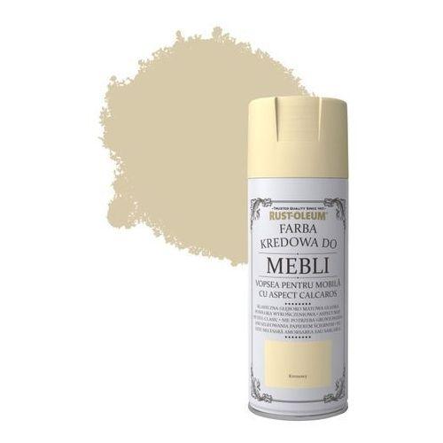 Rust-oleum Spray do mebli kremowy 400 ml (5013296038799)