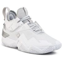 Buty NIKE - Jordan Westbrook One Take CJ0780 100 White/Metallic Silver/White, kolor biały