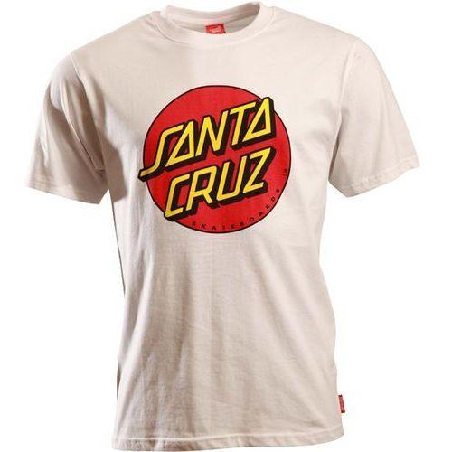 Koszulka - classic dot white (white) rozmiar: s marki Santa cruz