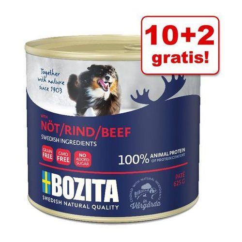 10 + 2 gratis! Pakiet Bozita Pate, 12 x 625 g - Jagnięcina| DARMOWA Dostawa od 99 zł + Promocje od zooplus!| -5% Rabat dla nowych klientów