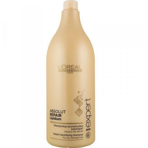 absolut repair lipidium - szampon regenerujący włosy zniszczone 1500ml marki Loreal