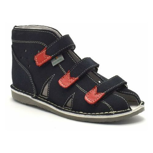 Dziecięce buty profilaktyczne Danielki S104/S114 Granat