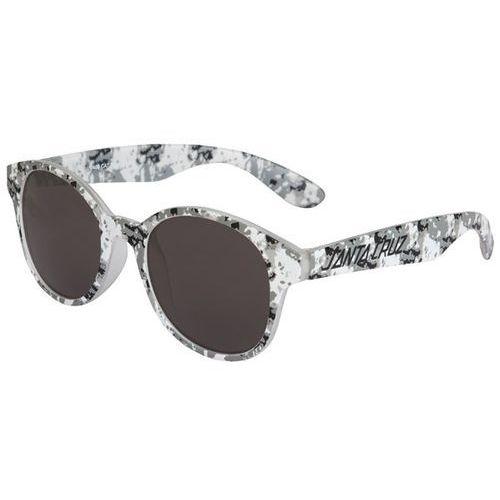 okulary słoneczne SANTA CRUZ - Tie-Dye Strip Sunglasses Black (BLACK) rozmiar: OS, kolor żółty