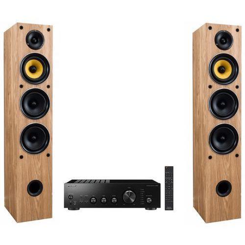 Pioneer Zestaw stereo a40aeb + taga tav-506f dąb (2900592820223)