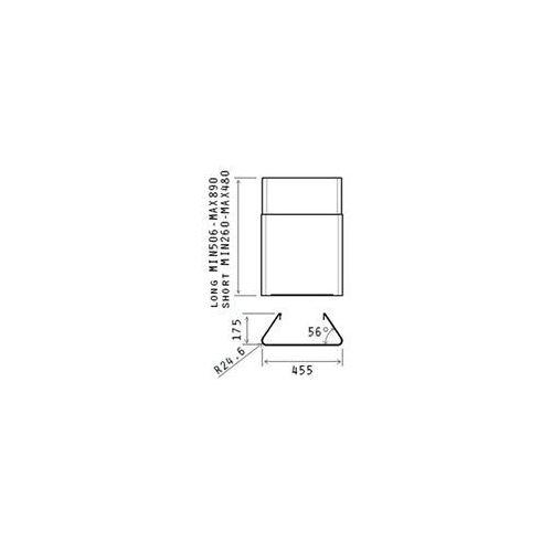 Komin krótki ELICA KIT0010700 - Specjalistyczny sklep - 28 dni na zwrot - Raty 0%