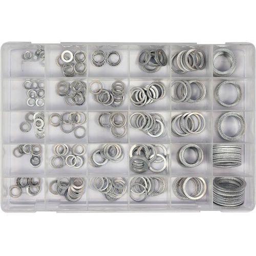 Yato Podkładki aluminiowe zestaw 300 szt. mix rozmiarów yt-06865 - zyskaj rabat 30 zł