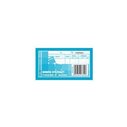 Druk Dowód sprzedaży Paragon wielokopia A7 (5908309978226)
