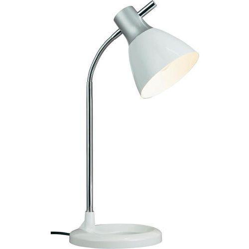 Brilliant Lampa stołowa jan 92762/05, e27, 1 x 40 w, 230 v, (Øxw) 19 cmx52 cm, biały (4004353121609)