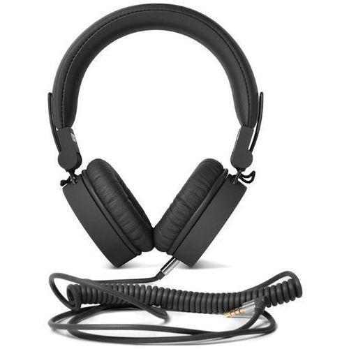 Słuchawki nauszne FRESH N REBEL Caps Concrete Czarny