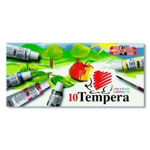 Farby tempera  10kol. 16ml 162502 od producenta Koh-i-noor