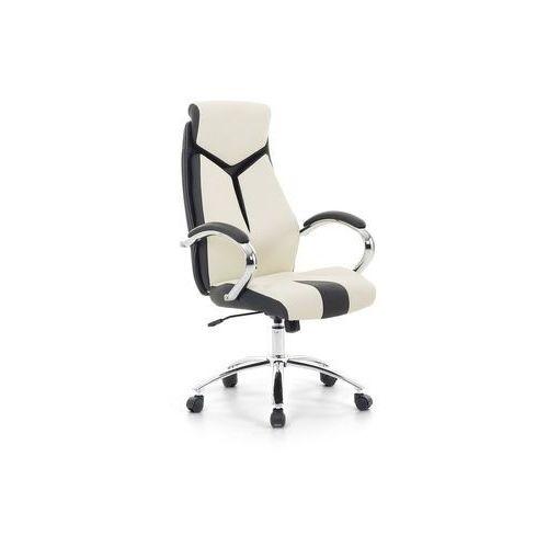 Krzesło biurowe beżowe - fotel biurowy obrotowy - meble biurowe - FORMULA 1 (7081454328363)