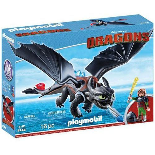 Playmobil DRAGONS Czkawka i szczerbatek 9246