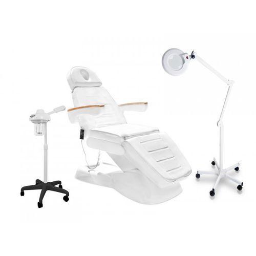 Zestaw Fotel Elektr. Lux + Wapozon Jy10 + Lampa Lupa R6