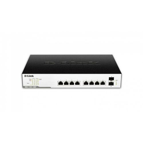 D-link switch smart 10xg e 2sfp poe dgs-1100-10mp