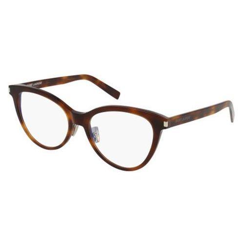 Okulary korekcyjne sl 177 slim 002 marki Saint laurent
