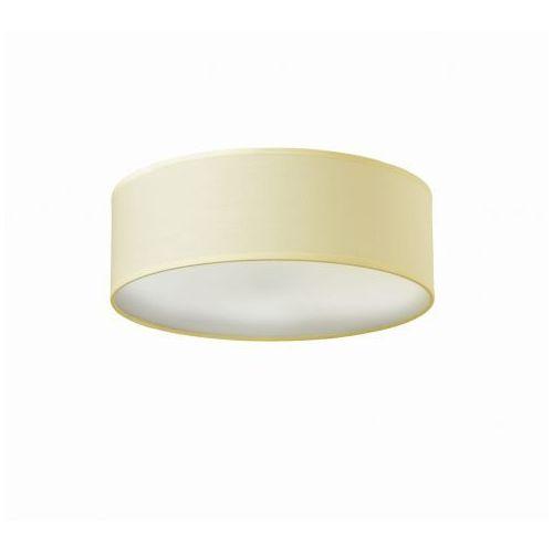 Sotto luce Natynkowa lampa sufitowa mika elementary m 1/c/ecru abażurowa oprawa okrągła ecru (5902429621475)