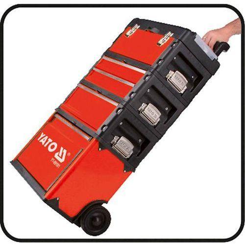 Wózek narzędziowy 3-częściowy marki Yato