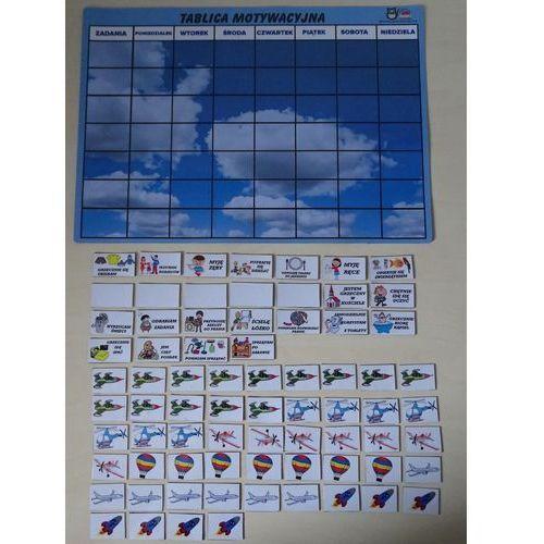 Magnetyczna tablica motywacyjna - samoloty marki Bystra sowa