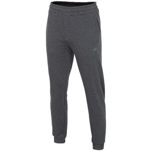 Męskie spodnie dresowe l18 spmd001 ciemny szary xl marki 4f
