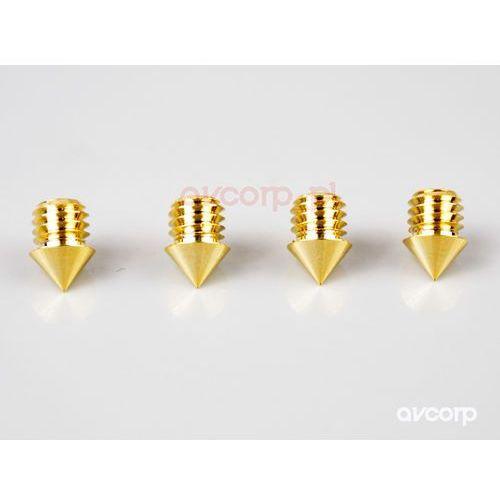 Viablue QTC Spikes Peaks Gold - kolce pod kolumny - Gold (4048834501276)
