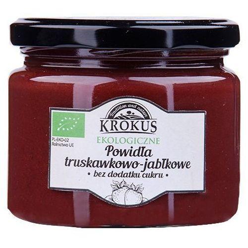 Ekologiczne Powidła Truskawka-Jabłko Bez Cukru 310g - Krokus (5906732626622)