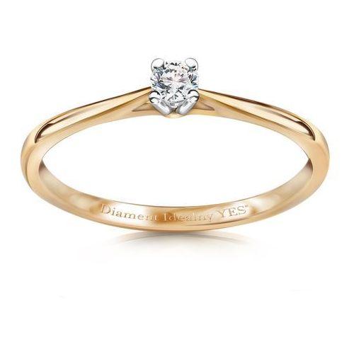 Éternel - pierścionek z diamentem