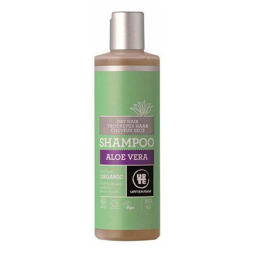 Urtekram Szampon aloesowy do włosów suchych bio - 250 ml -