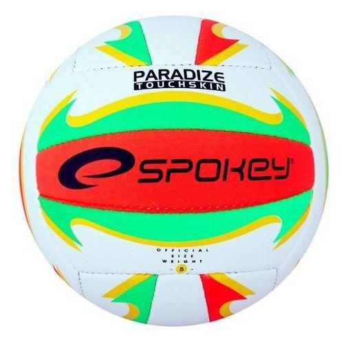Piłka siatkowa Spokey Paradize czerwono/zielona/żółta/biała (2010000599457)