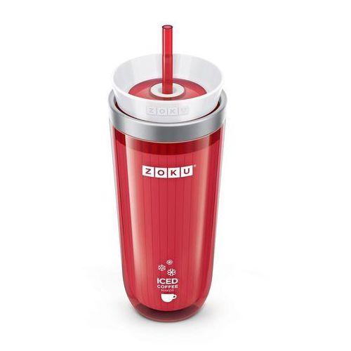 Kubek do mrożonej kawy lub herbaty Iced Coffee Maker czerwony (0851877003461)