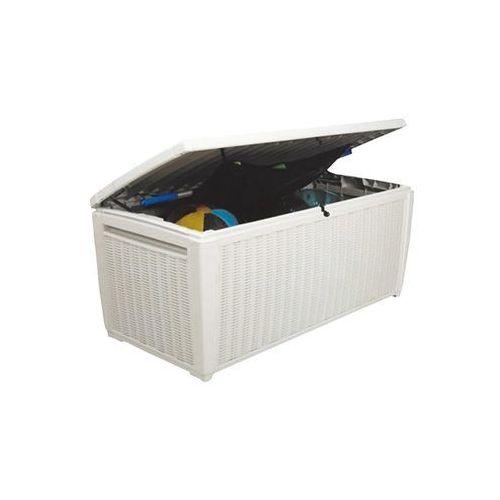 Skrzynia ogrodowa Pool Box 500L - Transport GRATIS!, OM-CURVER/SCHOWEK_POOL_BOX-BIALY