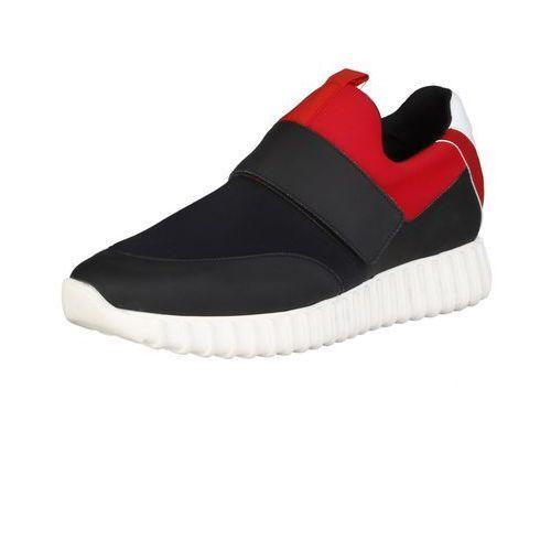Męskie Buty Sneakersy Made In Italia LEANDRO Czarne (8050750279418)