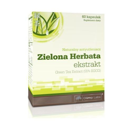 Olimp Zielona herbata Green Tea 250mg 60 kaps.