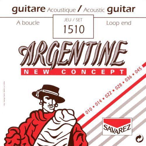 (668727) struny do gitary akustycznej argentine - komplet marki Savarez