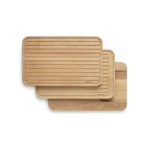 Brabantia - zestaw: drewnianych desek do krojenia (8710755260780)