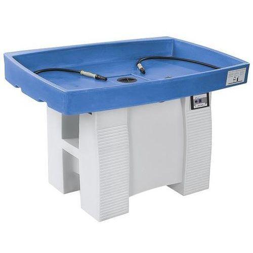 Denios Stół do czyszczenia biologicznego, duo, z panelem obsługi soft-touch, szer. x gł