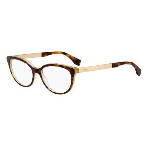 Fendi Okulary korekcyjne  ff 0079 fendi logo dvo