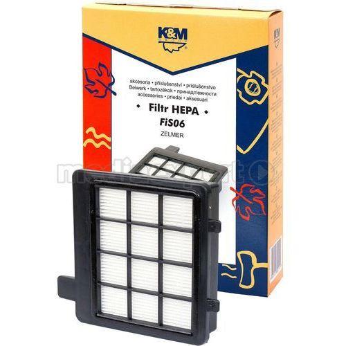 Filtr do odkurzacza fis06 marki K&m